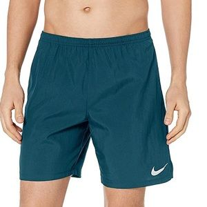 "Nike Dri-Fit Teal 7"" Running Shorts"